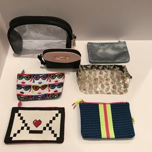 Mixed Lot of 7 Cosmetic Make Up Bags IPSY